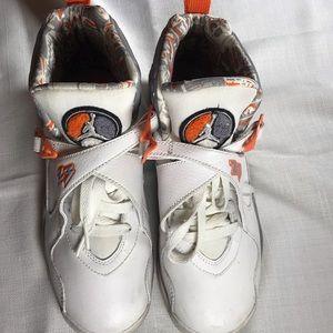 wholesale dealer 7715d 489c9 Jordan Shoes - Air Jordan 8 Retro White Orange Silver Stealth